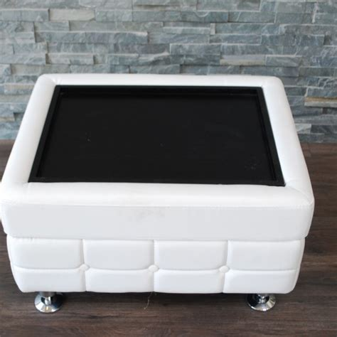 white leather ottoman coffee table coffee tables ideas best white leather coffee table