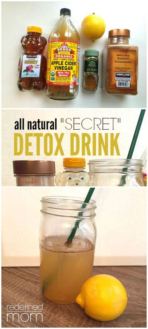 Speed Up Detox all quot secret quot detox drink recipe drinks
