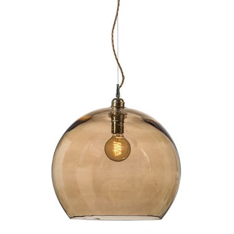 smokey glass pendant light gold smoked glass globe ceiling pendant light fitting with