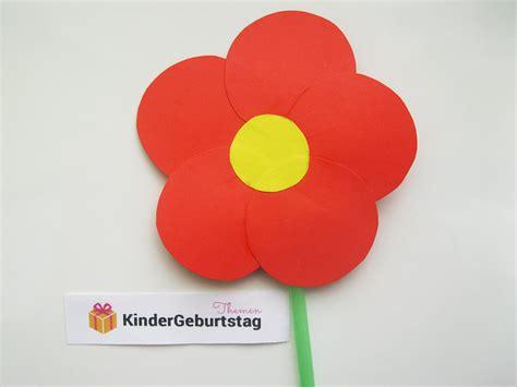 Blumen Zum Basteln by Blumen Basteln Mit Kindern Anleitung F 252 R Zuhause Und