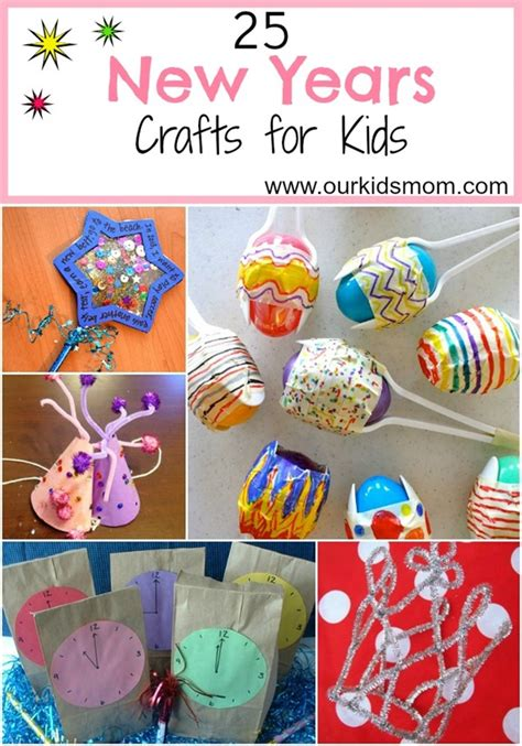 new year year of the crafts 25 new years crafts for