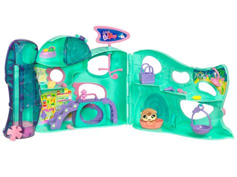 littlest pet shop houses hasbro littlest pet shop playful paws pet daycare packs big fun moms babies