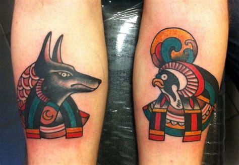 new school egyptian tattoo mysterious egyptian mythology tattoos tattoodo