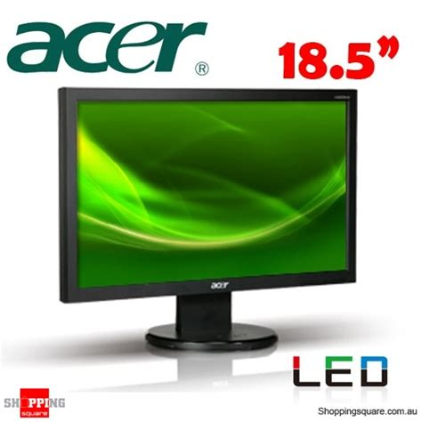 Monitor Acer Led 18 5 acer v193hqlbd 18 5 wide led monitor shopping