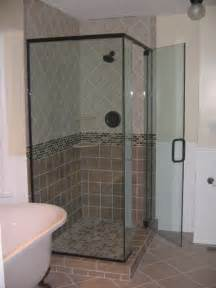 Custom Shower Glass Doors Frameless Frameless Glass Shower Door Installation In Hton Virginia