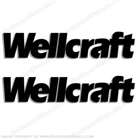 wellcraft decals - Weldcraft Boats Logo