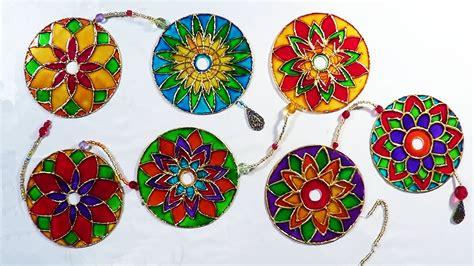 imagenes de mandalas hechas con cd mandala com cds mandala with cds youtube