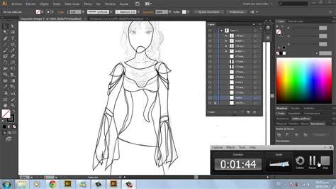 adobe illustrator cs6 que es dise 241 o de un personaje con illustrator cs6 parte 1 youtube