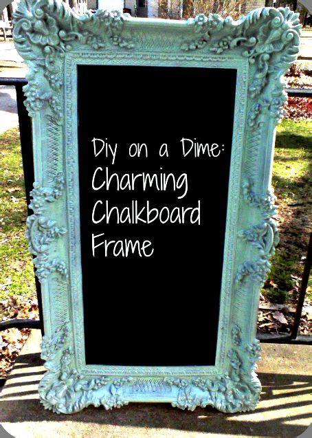 diy chalkboard from picture frame 25 best ideas about framed chalkboard walls on