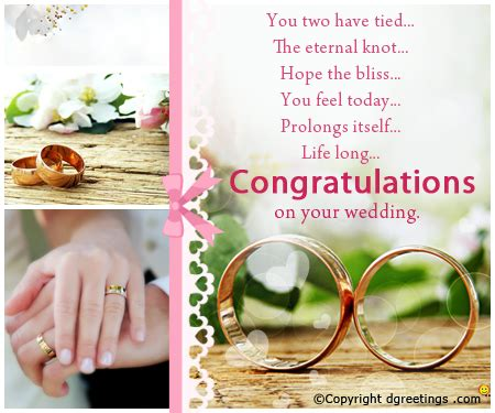 Wedding Congratulations To A Colleague by Congratulations Messages Congratulations Sms Wedding
