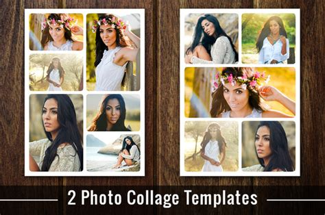 Free Download Poloroid Collage Template For Photoshop 30 Picture Collage Template