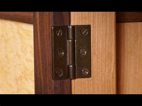 How To Mortise A Door by 123 How To Install A Hinge Mortise