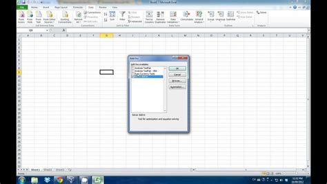 tutorial excel solver tutorial solve the quot solver quot issue for excel 2011 mac