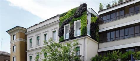giardini verticali roma roma giardino verticale nel quartiere prati palazzo green