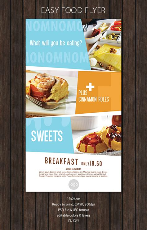 design flyer for restaurant restaurant flyer by snmsnl promotion ads pinterest