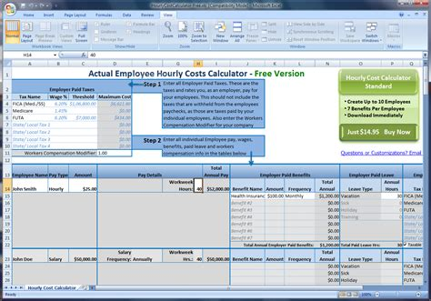 Spreadsheet Exlesoyee Expenses Template Restaurant Schedule Laborost For Excel Labor Cost Employee Cost Excel Template