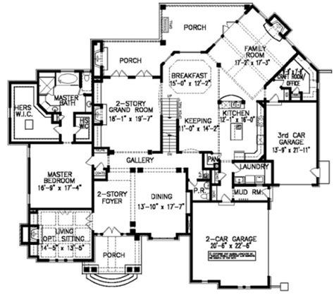 manor floor plans the laurelwood manor house plans first floor plan house