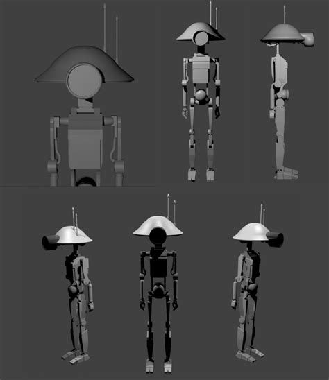 Wars Blender Models