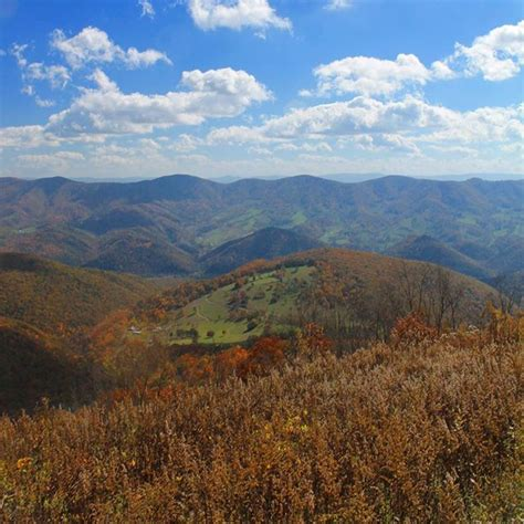 Knob Mountain by Photo East From Spruce Knob Mountain Andy Arthur Org