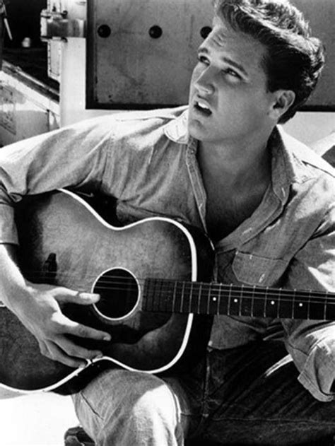 "Elvis Presley - ""Wise men say only fools rush in, but I"