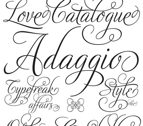 tattoo fonts whimsical fancy fonts boardley my favourite fonts of