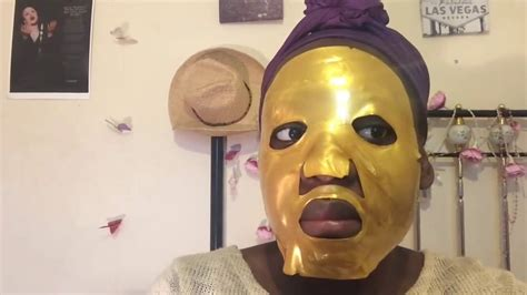 Masker Topeng Gold Bio Collagen Mask gold bio collagen mask review and demo