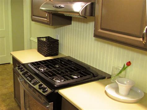 easy to install backsplashes for kitchens how to install a beadboard backsplash diy