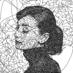 doodle line drawings i wrote an algorithm that doodles drawings from a single