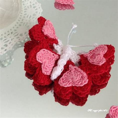 valentine s butterfly 2 crochet pattern by lilia crouch