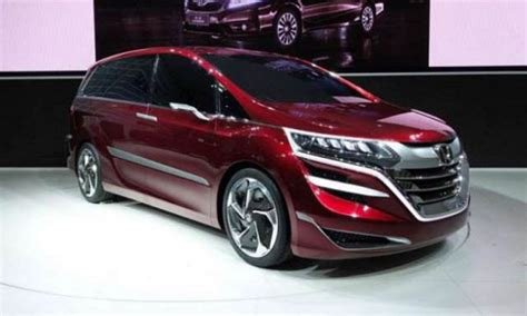 honda debuts 2018 odyssey project 2018 honda odyssey review redesign price new cars