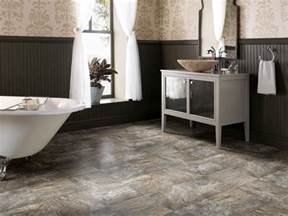 Bathroom Floor Ideas Vinyl by Vinyl Low Cost And Lovely Hgtv