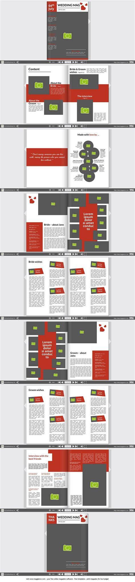 Hochzeit Zeitung by Hochzeitszeitung Kostenlos Erstellen Und G 252 Nstig