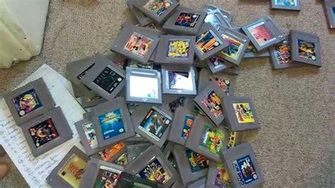 original gameboy for sale original gameboy haul and few sales