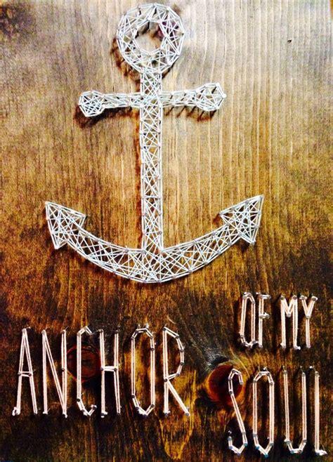 String Anchor - anchor string diy and crafts anchor