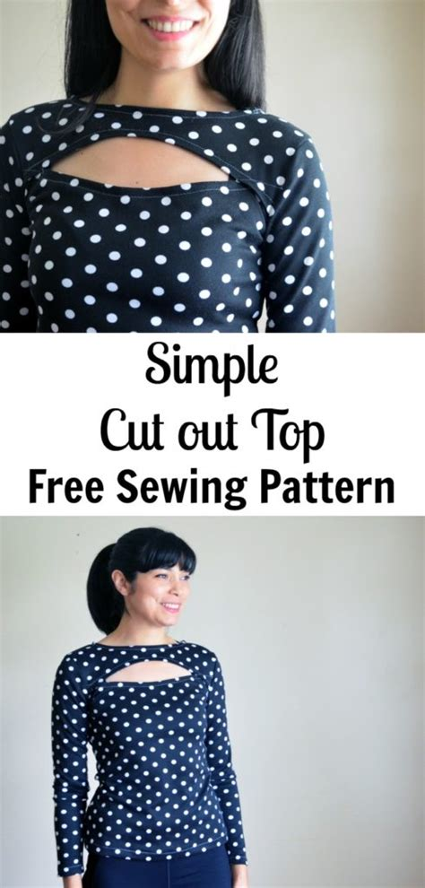 free sewing patterns and tutorials on the cutting floor simple cut out top free sewing pattern on the cutting