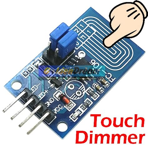 Saklar Dimmer jual touch dimmer capacitive led stepless dimming pwm