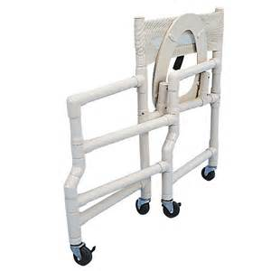 18 wide folding shower commode chair with elongated