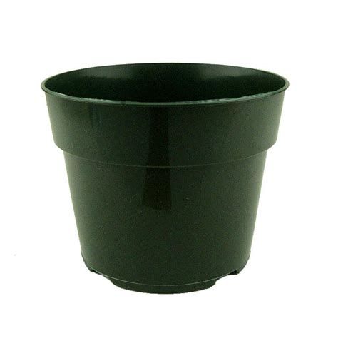 6 5 quot green plastic planter