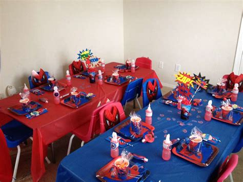 birthday themes spiderman spiderman birthday party ideas photo 3 of 9 catch my party