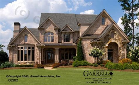 normandy style house plans part 1 by garrell associates garrell associates inc monet house plan 00202 front