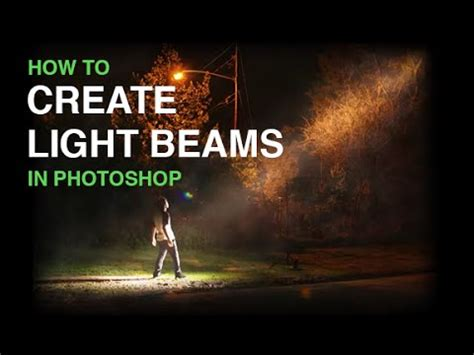 how to design light effect in photoshop create beams of light from nothing in photoshop youtube