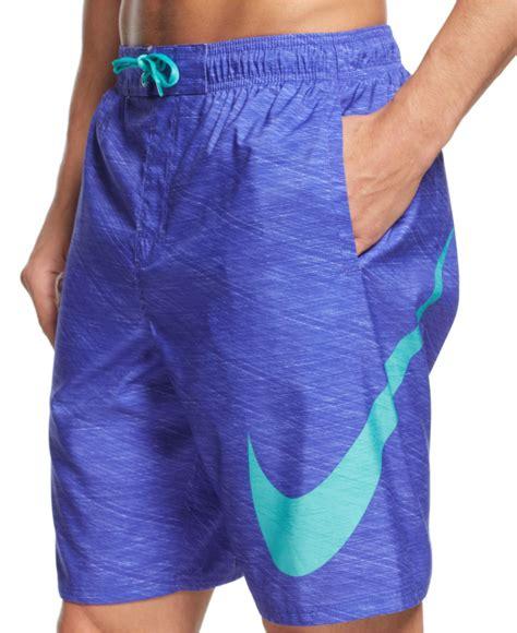 Mans Nike Swim Swimwer 100 Original 1 nike hyper flash 9 quot volley swim shorts in purple for lyst