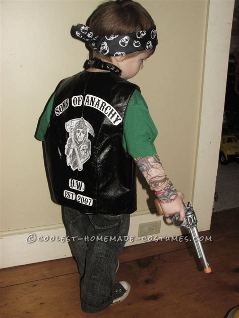 coolest sons  anarchy halloween costume kid  boys