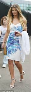 Bsf 02 Dress Palyboy joanne froggatt locks with husband cannon at wimbledon daily mail