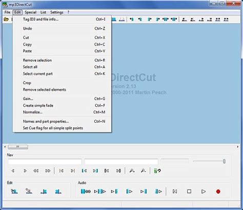 download mp3 cutter direct edit mp3 files with mp3directcut 171 sofotex download blog