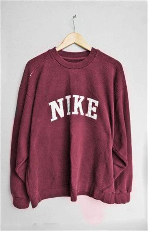 Sale Jaket Hoodie Just Do It Nike Maroon sweatshirts nike and clothes on