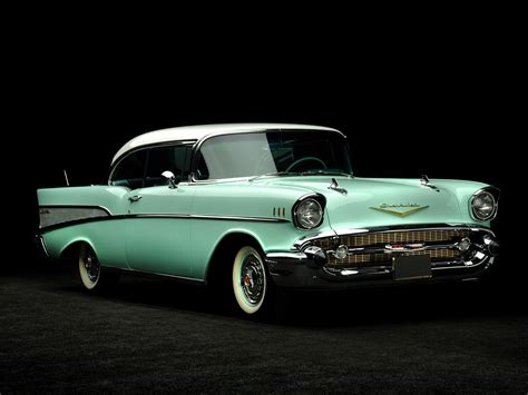 bel air chevrolet bel air sport coupe 1957