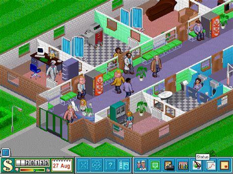 theme hospital list of rooms comfort food games theme hospital usgamer
