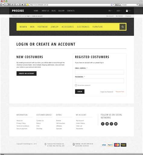 themeforest login page precise multipurpose responsive wordpress theme by wpway