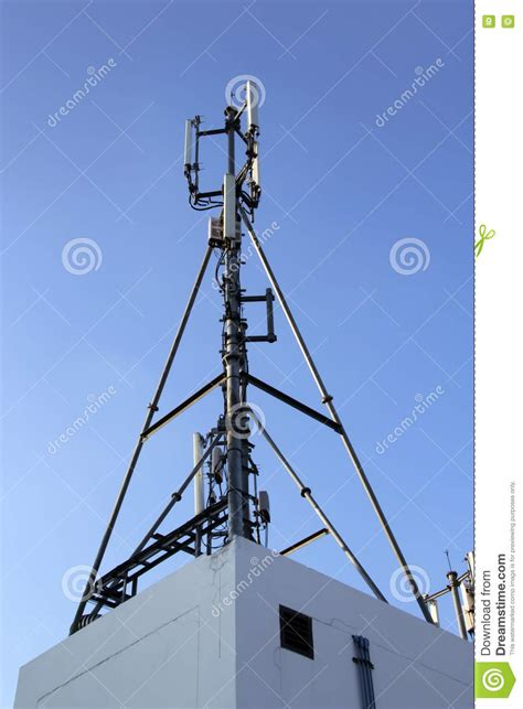 cell site radio tower  mobile phone base station